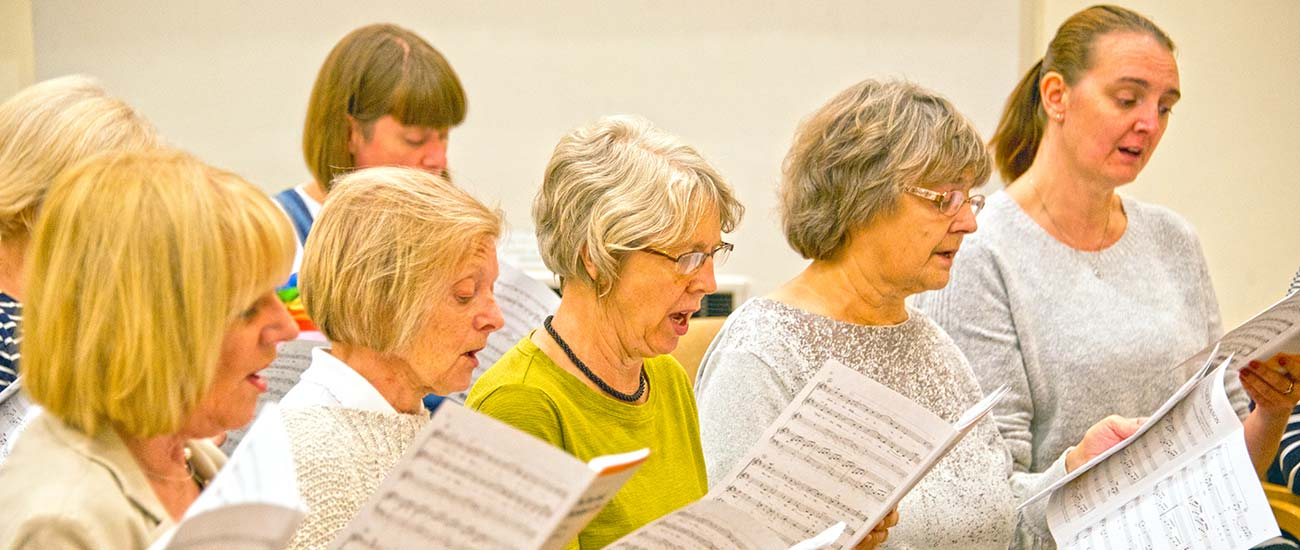 Doncaster Wheatsheaf Singers - rehearsals