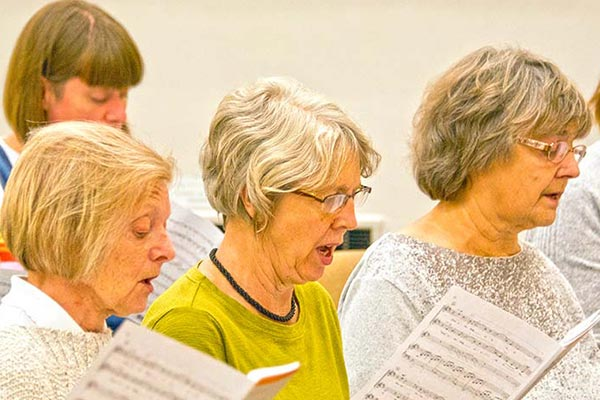 Doncaster Wheatsheaf Singers Rehearsals